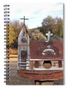 The Birdhouse Kingdom - The Barn Swallow Spiral Notebook