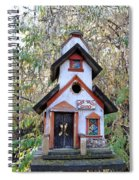 The Birdhouse Kingdom -the Pygmy Nuthatch Spiral Notebook