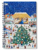 The Birth Of Christ Spiral Notebook