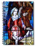 The Birth Of Jesus   Spiral Notebook