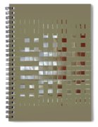 The Birth Of Squares No 1 Spiral Notebook
