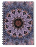 The Birth Of The Sun Spiral Notebook