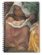 The Birth Of The Virgin Spiral Notebook