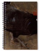 The Black Cock Spiral Notebook