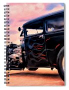 The Black Ghost Spiral Notebook