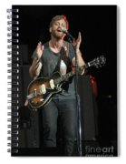 The Black Keys - Dan Auerbach Spiral Notebook