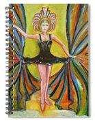 The Black Tutu Spiral Notebook