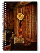 The Blacksmith's Hat Spiral Notebook