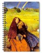 The Blind Girl Spiral Notebook