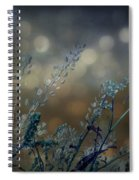 The Bling Of Blue Spiral Notebook
