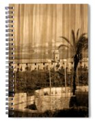The Bloody Island Xviii Century Navy Hospital In Menorca Miniaturized Spiral Notebook