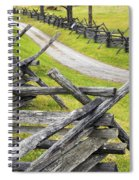 The Bloody Lane At Antietam Spiral Notebook