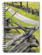 The Bloody Lane At Antietam Spiral Notebook