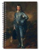 The Blue Boy, C.1770 Spiral Notebook