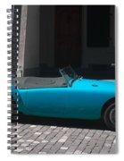 The Blue Car Spiral Notebook