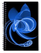 The Blue Cat Spiral Notebook