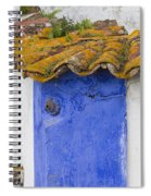 The Blue Corner In The White House Spiral Notebook