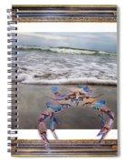 The Blue Crab Spiral Notebook