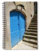 The Blue Door Spiral Notebook