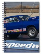 The Blue Duster Spiral Notebook