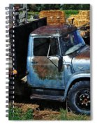 The Blue Farm Truck Spiral Notebook