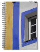 The Blue Framed Window Spiral Notebook