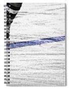The Blue Line Spiral Notebook