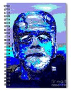 The Blue Monster Spiral Notebook
