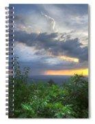 The Blue Ridge Mountains Spiral Notebook