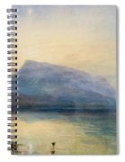 The Blue Rigi - Sunrise Spiral Notebook