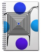 The Blue Zebra Spiral Notebook
