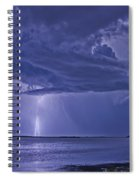 The Blues Spiral Notebook