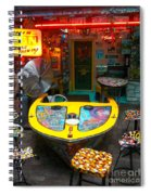 The Boat Bar Spiral Notebook