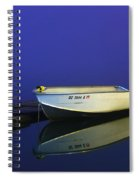 The Boat In The Fog Spiral Notebook