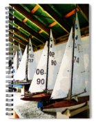 The Boat Shed Spiral Notebook