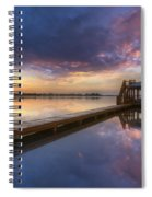 The Boathouse Spiral Notebook