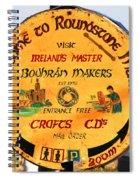 The Bodhran Makers Spiral Notebook