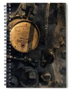 The Boiler Gauge Spiral Notebook
