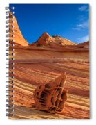 The Bone Yard In The North Coyote Buttes Spiral Notebook
