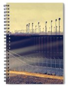 The Border Spiral Notebook