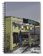 The Bottletree Cafe Spiral Notebook