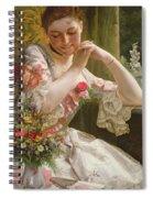 The Bouquet Spiral Notebook