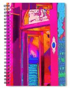 The Boutique Upstairs Spiral Notebook