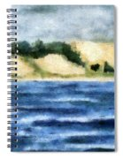 The Bowl - Dunes Study Spiral Notebook