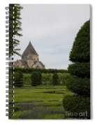 The Boxwood Garden - Villandry Spiral Notebook