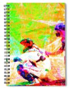 The Boys Of Summer 5d28228 The Catcher Square Spiral Notebook