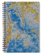 The Breakup Of Pangaea Spiral Notebook