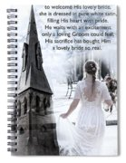The Bride Of Christ Spiral Notebook