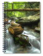 The Bridge At Alum Cave Spiral Notebook