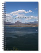 The Bridge At Roosevelt Lake Spiral Notebook